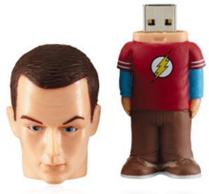 Tyme Machines Big Bang Theory - Sheldon 8GB USB Drive