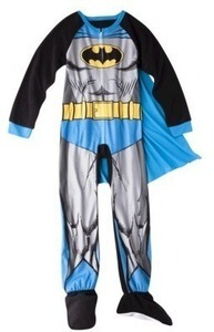 Batman Caped Footie Pajamas