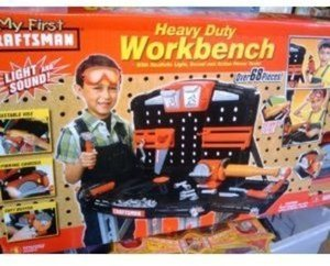 Craftsman Kids' 66 Pc Heavy Duty Workbench Set