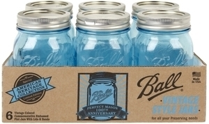 Ball Heritage Collection Pint Jar 6 Pk