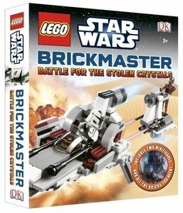 Lego Star Wars Brickmaster Battle for the Stolen Crystals Book