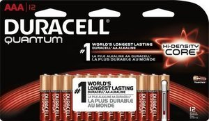 Duracell Quantum 12-Pack AAA Batteries