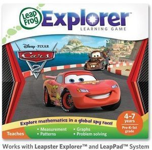 LeapFrog  Explorer Learning Game: Disney Pixar Cars 2