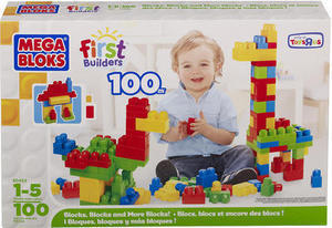 Mega Bloks 100-Count Box of Blocks