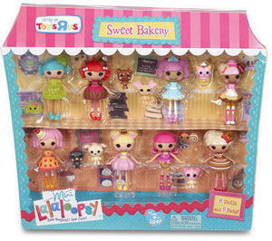 Mini Lalaloopsy Sugar and Spice 8-Pack