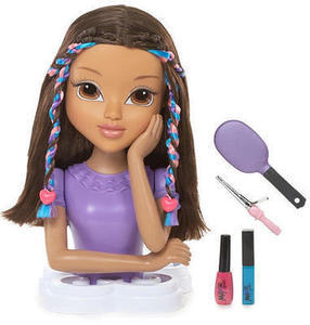 Moxie Girls Magic Hair Styling Head
