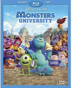 Monsters University Blu-Ray Combo Pack (Blu-Ray/DVD)