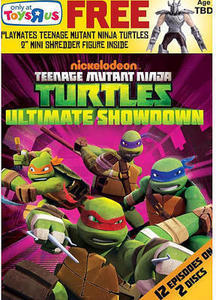 Teenage Mutant Ninja Turtles: Ultimate Showdown w/ Shredder Figure