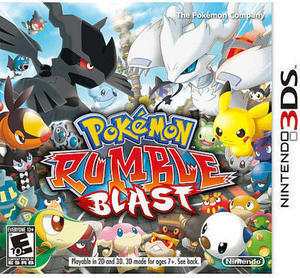 Pokemon Rumble Blast (3DS)