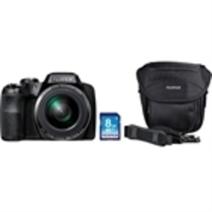 FujiFilm FinePix S8400W Wi-Fi Image Transfer 16.2MP Digital Camera Bundle