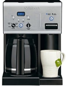 Cuisinart Coffee Plus 12-Cup Programmable Coffeemaker
