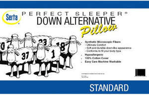 Serta Down Alternative Pillow
