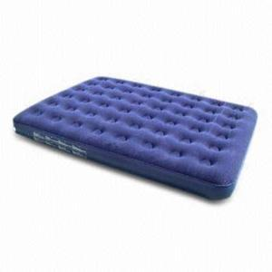 North American Flocked Air Bed - Queen