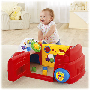Fisher Price Laugh & Learn Crawl Around Car