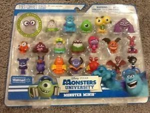Monsters U Monster Minis Figures