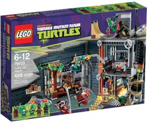 LEGO Teenage Mutant Ninja Turtles Turtle Lair Attack