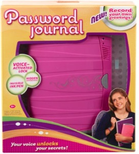 Girl Tech Password Journal 8