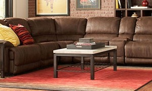 Jedd Fabric Power RecliningSectional  + Extra 10% Off