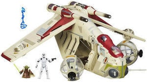 Star Wars Republic Gunship Vehicle
