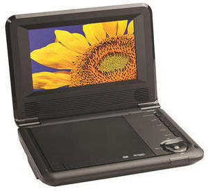 "Audiovox 7"" Portable DVD Player"