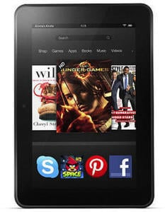 Amazon Kindle Fire HD  + $20 Gift Card