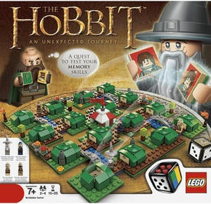 LEGO The Hobbit an Unexpected Journey Board Game