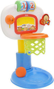Fisher-Price Brilliant Basics: Dunk 'n Cheer Basketball