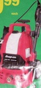 SnapOn Electric Pressure Washer