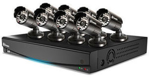 Swann 8 Channel Full D1 Security System