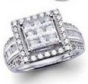 1.95 ct. tw. Diamond Ring in White Gold