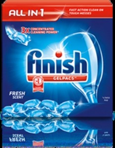 Finish Dishwasher Products w/ Card