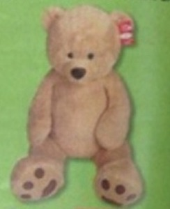Jumbo Plush Toy w/ Card & Coupon - Thursday Only