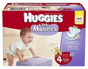 Huggies Big Pak Diapers or Pull Ups w/ Card