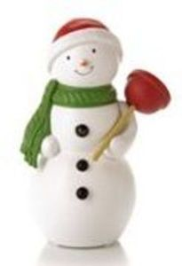 Hallmark Animated Jolly in the John Snowman w/ 5K Points