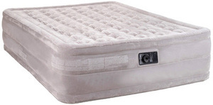 Intex Queen Raised Airbed w/ Built-In Pump
