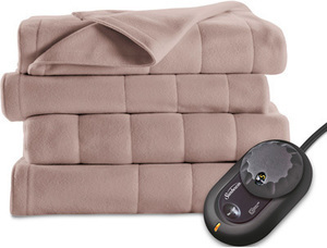 Sunbeam Fleece Electric Blanket, Full-Queen