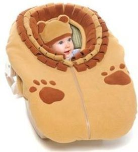 Snugaroo Car Seat Cover with Lion