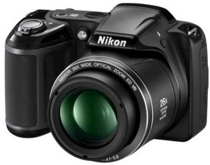 Nikon L320 16.1MP Digital Camera with 26x Optical Zoom