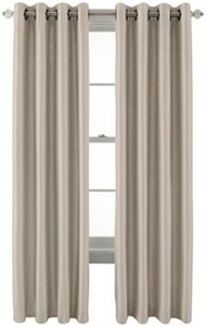 Royal Velvet Plaza Grommet-Top Curtain Panel