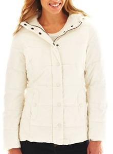 St. John's Bay Women's Puffer Jacket