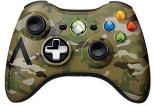 Xbox 360 Wireless Camo Controller