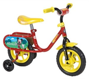 "Huffy 10"" Boys Mickey Bike"