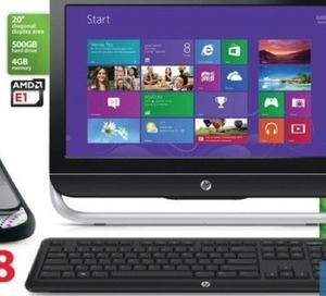 HP 20-B323W All-in-One Desktop