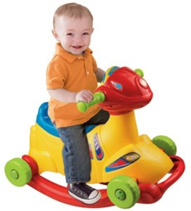 VTech Sit-To-Race Smart Wheels Ride-On Rocker