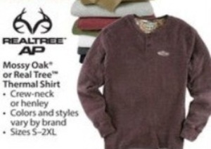 Real Tree Men's Thermal Shirt