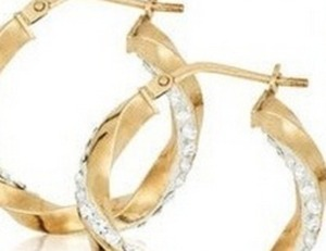 10k Gold Hoop Earrings of $60 or more