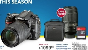 Nikon D7000 DSLR Camera Bundle
