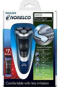 Philips Norelco PowerTouch Electric Razor - Black