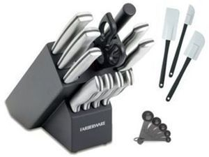 Farberware 20-pc. Stainless Steel Cutlery Set After Rebate