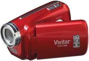 Vivitar Digital Video Recorder - Red
